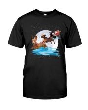Dachshund Santa Phoebe 018 Classic T-Shirt thumbnail