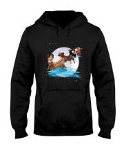 Dachshund Santa Phoebe 018 Hooded Sweatshirt front