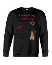 Poem From Airedale Terrier Crewneck Sweatshirt thumbnail