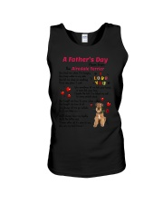 Poem From Airedale Terrier Unisex Tank thumbnail