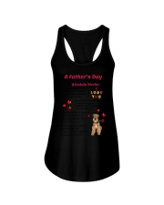 Poem From Airedale Terrier Ladies Flowy Tank thumbnail
