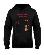 Poem From Airedale Terrier Hooded Sweatshirt thumbnail