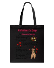 Poem From Airedale Terrier Tote Bag thumbnail