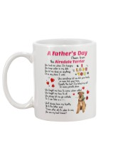 Poem From Airedale Terrier Mug back