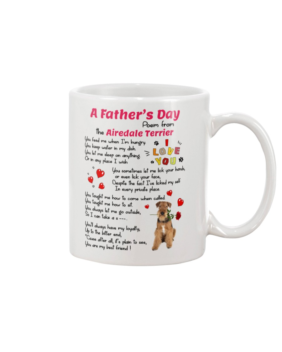 Poem From Airedale Terrier Mug