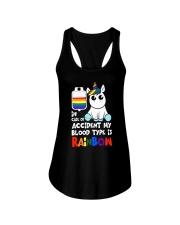 Rainbow Unicorn Ladies Flowy Tank thumbnail