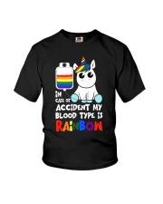 Rainbow Unicorn Youth T-Shirt thumbnail