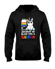 Rainbow Unicorn Hooded Sweatshirt thumbnail