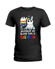 Rainbow Unicorn Ladies T-Shirt thumbnail