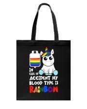 Rainbow Unicorn Tote Bag thumbnail