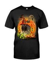 Black Cat Trick Or Treat Classic T-Shirt thumbnail