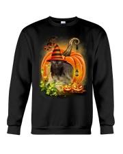 Black Cat Trick Or Treat Crewneck Sweatshirt front