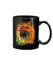 Black Cat Trick Or Treat Mug thumbnail