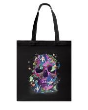 Skull Mermaid Tote Bag thumbnail