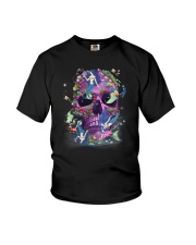 Skull Mermaid Youth T-Shirt thumbnail