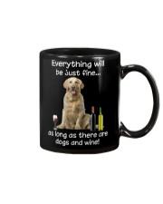 Golden Retriever And Wine Mug thumbnail