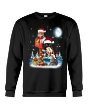 Cat Christmas Mailbox Crewneck Sweatshirt front