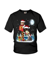 Cat Christmas Mailbox Youth T-Shirt thumbnail