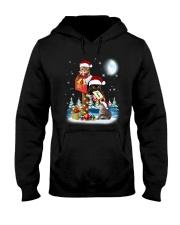 Cat Christmas Mailbox Hooded Sweatshirt thumbnail