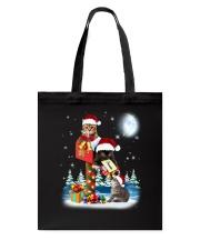 Cat Christmas Mailbox Tote Bag thumbnail