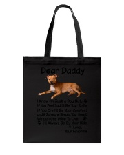 Daddy American Pit Bull Terrier  Tote Bag thumbnail