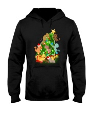 PHOEBE - Cats playing - 0712 - D11 Hooded Sweatshirt thumbnail