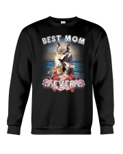 Wolf Best Mom Crewneck Sweatshirt thumbnail