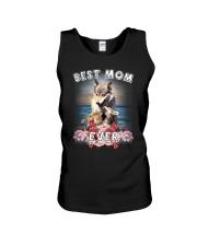 Wolf Best Mom Unisex Tank thumbnail