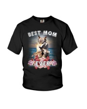 Wolf Best Mom Youth T-Shirt thumbnail