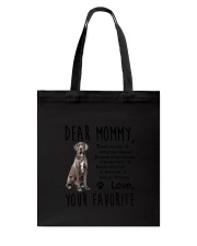 Mommy Great Dane Tote Bag thumbnail