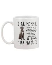 Mommy Great Dane Mug back
