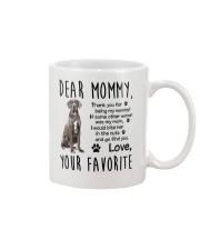 Mommy Great Dane Mug front