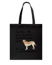 Pawsome Mom Labrador Retriever Tote Bag thumbnail