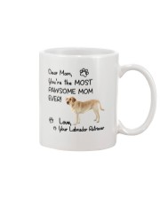 Pawsome Mom Labrador Retriever Mug front