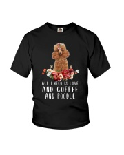 Poodle All I Need  Youth T-Shirt thumbnail