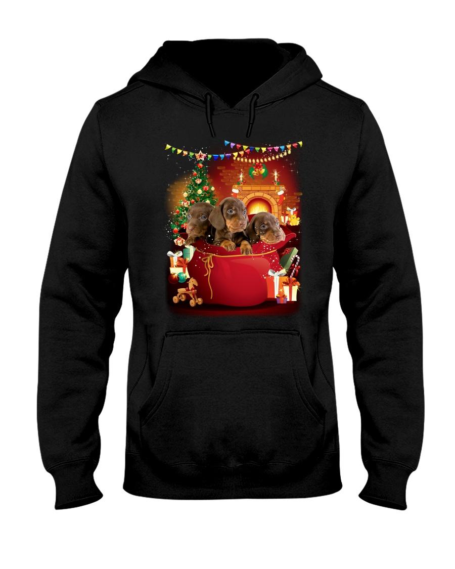 Dachshund Bag Phoebe 018 Hooded Sweatshirt