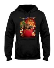Dachshund Bag Phoebe 018 Hooded Sweatshirt front
