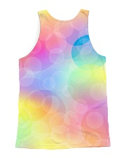 French Bulldog Color Summer All-over Unisex Tank back