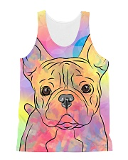 French Bulldog Color Summer All-over Unisex Tank thumbnail