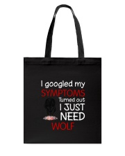 Wolf Symptoms Tote Bag thumbnail