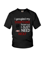 Wolf Symptoms Youth T-Shirt thumbnail