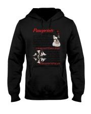 Pawprints French Bulldog Hooded Sweatshirt thumbnail