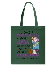 Crazy Cat Lady 1810 Tote Bag thumbnail