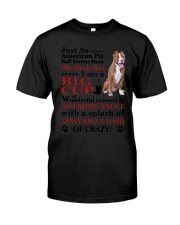 American Pit Bull Terrier Crazy Funny Classic T-Shirt thumbnail