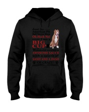 American Pit Bull Terrier Crazy Funny Hooded Sweatshirt thumbnail