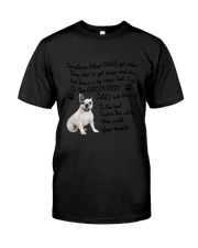 Grooviest Dad French Bulldog Classic T-Shirt thumbnail