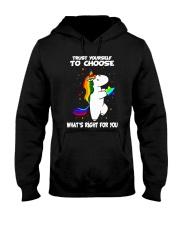PHOEBE - Trust yourself to choose - 0512 - C8 Hooded Sweatshirt thumbnail