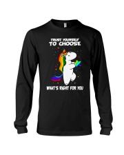 PHOEBE - Trust yourself to choose - 0512 - C8 Long Sleeve Tee thumbnail