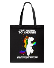 PHOEBE - Trust yourself to choose - 0512 - C8 Tote Bag thumbnail