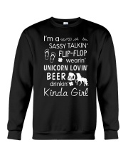 Unicorn Sassy Talking Crewneck Sweatshirt thumbnail